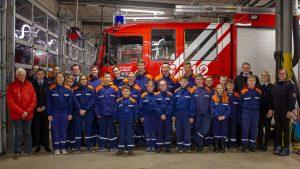 Jugendfeuerwehren erhalten Spende von den Stadtwerken Rotenburg