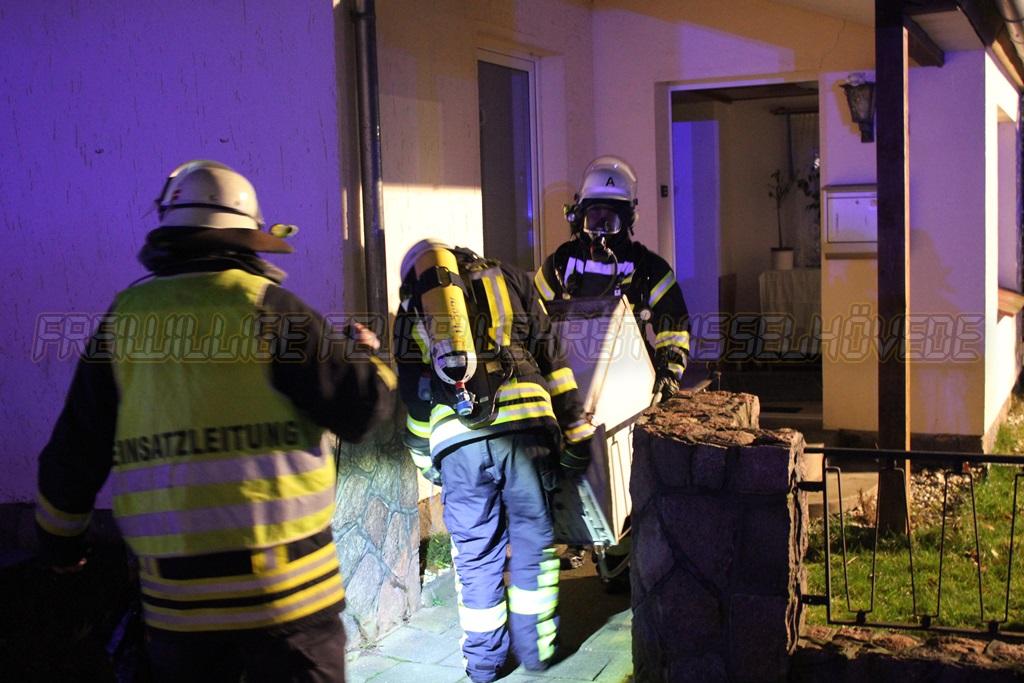 Geschirrspüler brannte in Wohnung