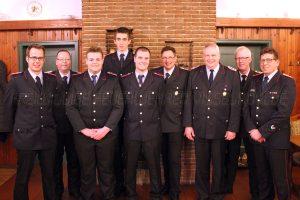 Mitgliederversammlung – Ehrung für 70 Jahre Mitgliedschaft in der Feuerwehr