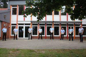 Deutlich mehr Verantwortung für sechs neue und wiedergewählte Ortsbrandmeister