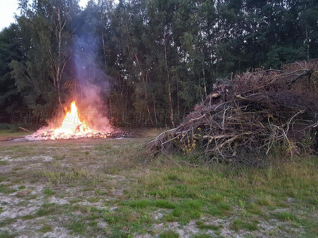 Unklare Rauchentwicklung am Campingplatz