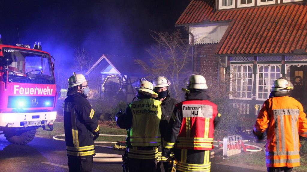 Kellerbrand als erster Einsatz des Jahres 2021