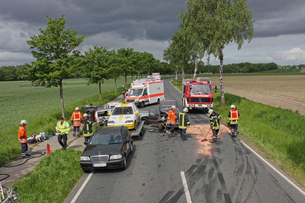 Read more about the article Schwerer Verkehrsunfall auf der B440