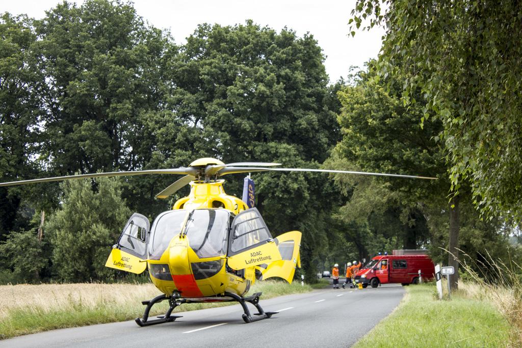Read more about the article Schwerer Verkehrsunfall bei Hütthof
