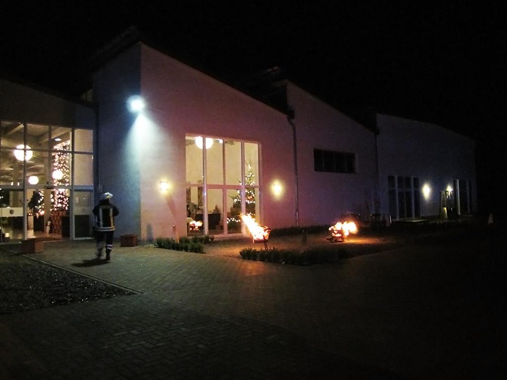 Feuerschein im Luisenpark aufgeklärt
