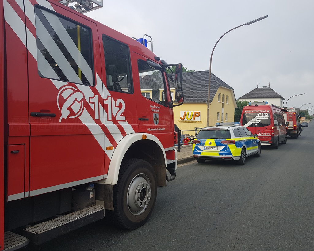 Read more about the article Rettungsdienst benötigt Tragehilfe