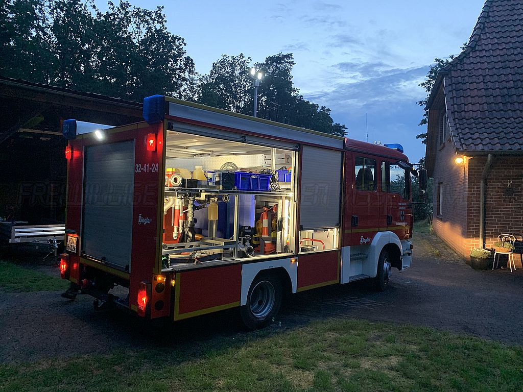 Read more about the article Hiddinger Feuerwehr bei Folgeeinsatz gefordert