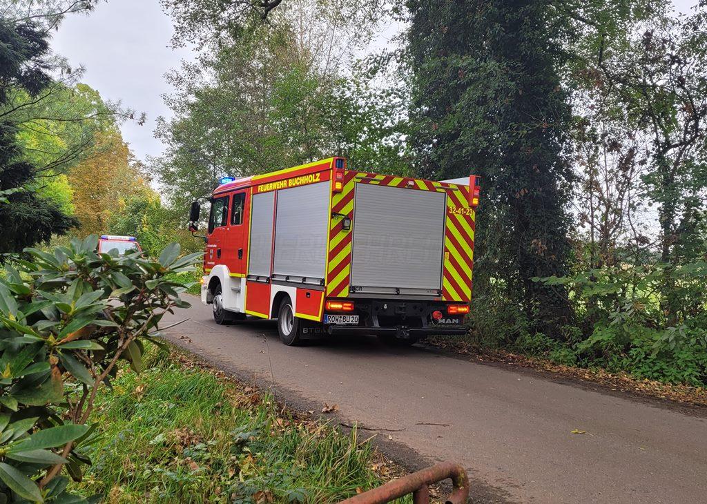 Read more about the article Buchholzer Feuerwehrkräfte leisten Tragehilfe